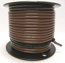 10 AWG Kalas Tinned Primary Wire Marine 25 to 100 Foot Lengths Brown and Orange