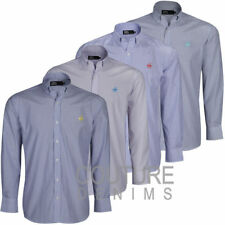 Dress Shirt Formal Business Long Sleeve Smart Luxury Fit Top Mens Polo Horse