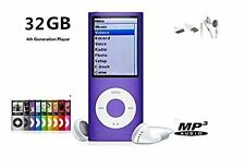 "32GB Slim Mp3 Mp4 Player With 1.8"" LCD Screen FM Radio, Video Games & Movie USA"