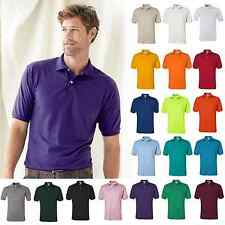 JERZEES Mens SpotShield 50/50 Polo Sport Shirt 437MSR S-4XL Cotton/Polyester