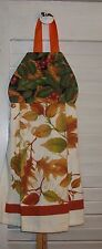 Bittersweet Leaves Autumn Fall Hanging Kitchen Oven Cabinet Dishtowel HCF&D