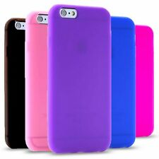 Shockproof Soft Silicone Rubber Back Case Cover Skin For iPhone 6 6 Plus 5 5s