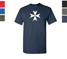 The Maltese cross T-Shirt Knights of Malta Shirt SIZES S-5XL