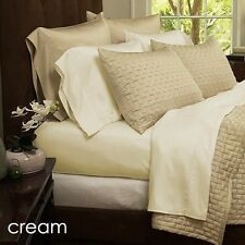Luxury Home 4 Piece: Soft 1800 Series Bamboo Fiber Bed Sheets