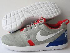 NIKE ROSHE RUN WORLD CUP GREAT BRITAIN 6.5 7 GREY TECH FLEECE gold trophy nm red