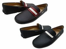 Bally Mens Dracon Slip On Moc Toe Casual Driving Drivers Fashion Loafers Shoes