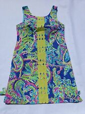 New Lilly Pulitzer  2 4 6 8 10  Delia Shift Dress Multi Toucan Play