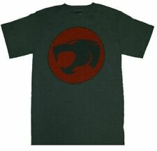 Adult Men's Thundercats Animated TV Series Logo Dark Heather Gray T-shirt Tee