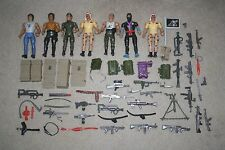 VINTAGE 1980'S COLECO RAMBO HUGE LOT OF FIGURES AND ACCESSORIES