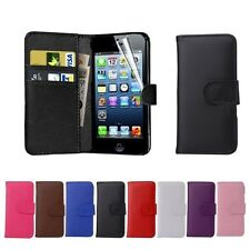 Wallet Card Holder PU Flip Leather Pouch Stand Case Cover for iPhone 6 6 Plus 5s