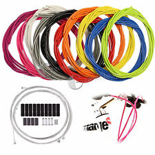 UK Road Jagwire Front & Rear Inner Outer Wire Gear Brake Cable Set Bike Bicycle