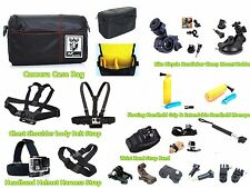 GZ6a Accessories kit Case Strap Bike Mount Holder Monopod for SONY Action Cam