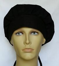 PICK COLOR SURGICAL SCRUB HAT THEATRE CAP BANDED BOUFFANT CUSTOM PERSONALIZE