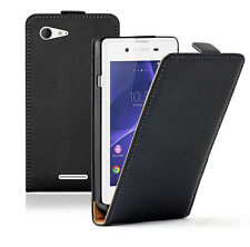 Genuine Luxury Magnetic UP Flip Vertical PU Leather Case Cover For Cell Phone