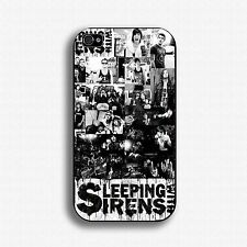 SLEEPING WITH SIRENS Hard Plastic Case for Iphone Samsung Galaxy HTC ONE