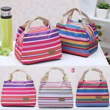 Portable Insulated Thermal Cooler Lunch Box Tote Storage Bag Carry Travel Picnic