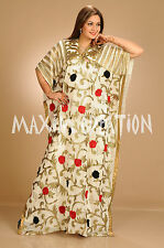 NEW GEORGETTE FANCY BY MAXIM CREATION CAFTAN ARABIAN ISLAMIC THOBE  DRESS  5176
