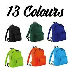 Junior Retro Backpack Mens Womens Boys Bag School College Urban Hipster Rucksack