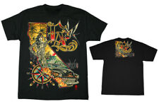 Sullen Art Collective Men's Kali L.A. Tattoo Graphic T-shirt Black
