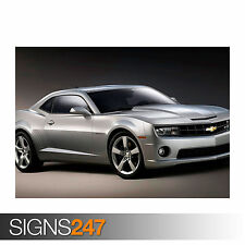 CHEVROLET CAMARO SS (0753) Car Poster -  Picture Poster Print Art A0 A1 A2 A3 A4