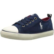 Polo Ralph Lauren Falmuth Low Navy Suede Trainers