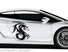 TRIBAL DRAGON 6 - CAR, VAN, BOAT, WALL ART VINYL / DECAL Graphics Sticker