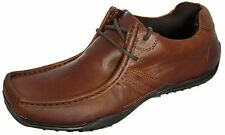 Red Tape Kinder Tan Brown Lace up Casual Leather Mens Padded Shoes