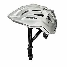 Oneal NEW Q Cycle Matte White Downhill Mountain Bike MTB BMX Bicycle Helmet