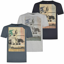 Animal Mens Camper Short Sleeve Crew Neck Casual T-Shirt Tee Top New