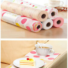 Fashion Polka Dots Shelf Contact Paper Cabinet Drawer Liner Kitchen Table Mat