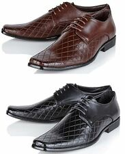 Mens Wedding Shoes casual Party Dress Smart Italian Formal Office Shoes Size