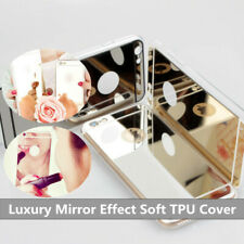 Ultra Thin Luxury Mirror Effect Soft TPU Case Skin For Apple iPhone Samsung Lot