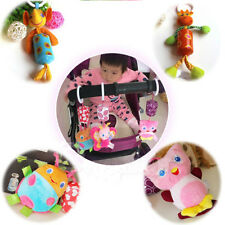 Baby Infant Soft Animal Handbells Rattles Bed Bell Stroller Developmental Toys