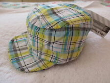 BABY BOYS ITTY BITTY CAP HAT & SHORTS TO MATCH SUNNY SKY YELLOW 3 -6MTHS BNWT