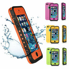 Waterproof Heavy Duty Shockproof Snow Proof Durable Case Cover For iPhone 5C 5 C