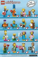 Lego Simpsons Minifigures Series 2 71009 NEW - Choose your figure
