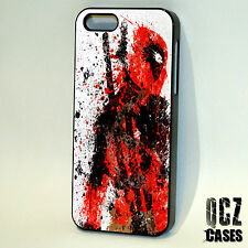 Deadpool Marvel Superhero comics case cover for iPhone 4/4s 5/5s/5c 6/6plus 6s