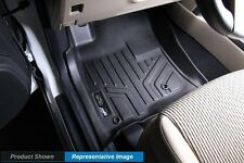 Black All Weather Floor Liners Chevrolet Front Row 2 Piece MAXLINER Mats