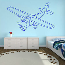 CESSNA AIRCRAFT AEROPLANE VINTAGE OLD Vinyl wall art sticker decal