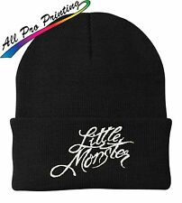 Lady Gaga Little Monster Embroidered Beanie One Size Fits Most