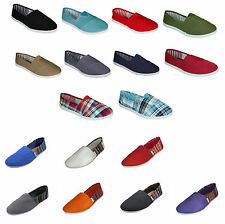 Womens Ballet Flats Canvas Slip On Espadrille Loafer Shoe Sparkle Casual Slipper