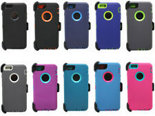 New Defender Heavy Duty Hybrid Outer Series Case w/Clip For iphone 6s / 6s Plus