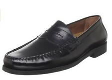 Johnston & Murphy Mens Pannell Moc Toe Business Casual Penny Loafers Dress Shoes