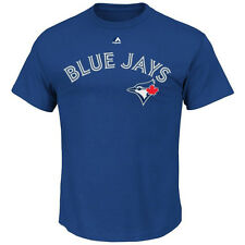 Toronto Blue Jays Majestic MLB Official Wordmark II T-Shirt – Blue