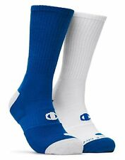 4 Champion Men's Basketball Crew Socks CH120
