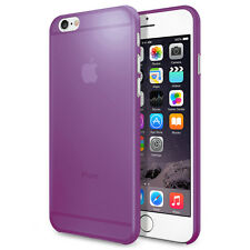 Transparent Purple Matte Frosted Hard Cover Shell Case For Apple iPhone 6/6s