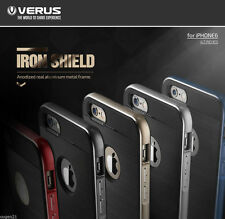 Verus Iron Shield Dual Metal Frame Bumper Cover For Apple iPhone 6 6s Plus Case