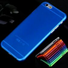 Transparent Blue Matte Frosted Ultra Thin 0.3mm Case Cover For Apple iPhone 6/6s