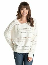 Roxy Horizon Fine Ladies Jumper in Seaspray - On Sale Now