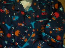 BNWT BOYS BLUE CIRCUS DESIGN COSY  BRUSHED COTTON PYJAMAS AGES 9-23 MTHS